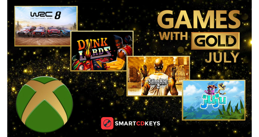 New free Games with Gold for July 2020 anounced!
