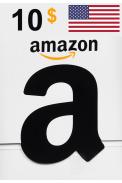 Amazon $10 (USD) (USA/North America) Gift Card
