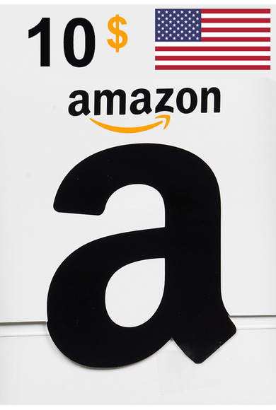 Amazon $10 (USD) (USA/North America) Gift Card