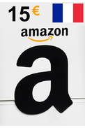 Amazon 15€ (EUR) (France) Gift Card