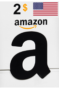 Amazon $2 (USD) (USA/North America) Gift Card