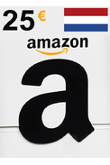 Amazon 25€ (EUR) (Netherlands) Gift Card