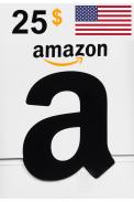 Amazon $25 (USD) (USA/North America) Gift Card