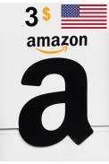 Amazon $3 (USD) (USA/North America) Gift Card