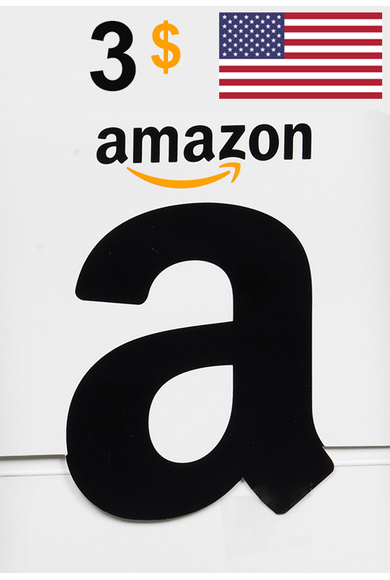 Amazon $3 (USD) (USA/North America) Gift Card