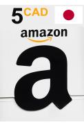 Amazon 5 (CAD) (Canada) Gift Card