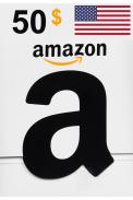 Amazon $50 (USD) (USA/North America) Gift Card