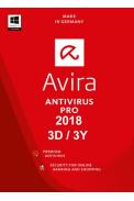 Avira Antivirus Pro 2018 - 3 Device 3 Year