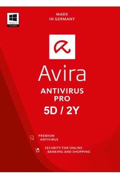 Avira Antivirus Pro - 5 Device 2 Year
