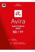 Avira Antivirus Pro - 5 Device 1 Year
