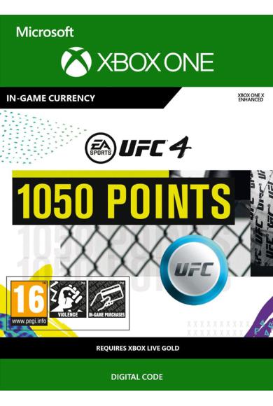 EA Sports UFC 4 - 1050 UFC Points (Xbox One)