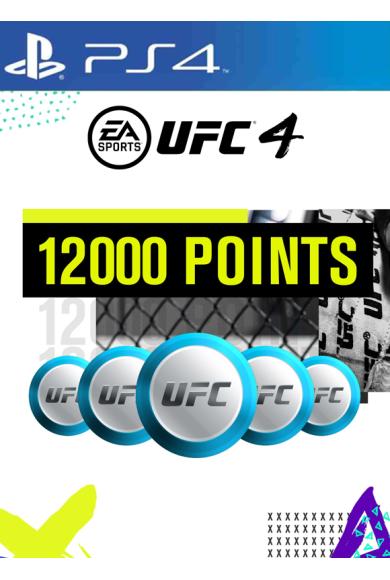 EA Sports UFC 4 - 12000 UFC Points (PS4)