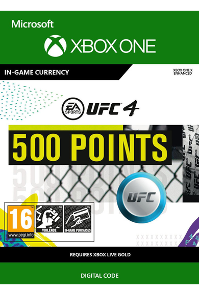 EA Sports UFC 4 - 500 UFC Points (Xbox One)
