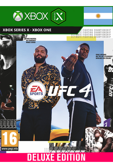 EA Sports UFC 4 - Deluxe Edition (Argentina) (Xbox One / Series X|S)