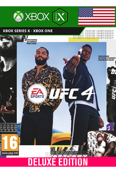 EA Sports UFC 4 - Deluxe Edition (USA) (Xbox One / Series X|S)