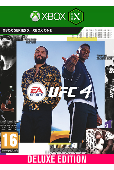 EA Sports UFC 4 - Deluxe Edition (Xbox One / Series X|S)