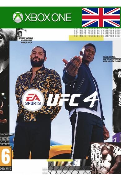 EA Sports UFC 4 (UK) (Xbox One)