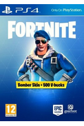 Fortnite Bomber Skin + 500 V-bucks (PS4) (Europe)