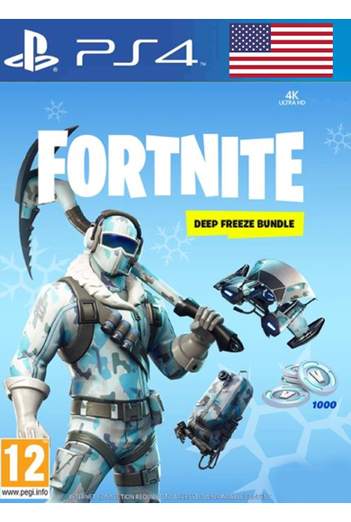 Fortnite Deep Freeze Bundle (USA) (PS4)