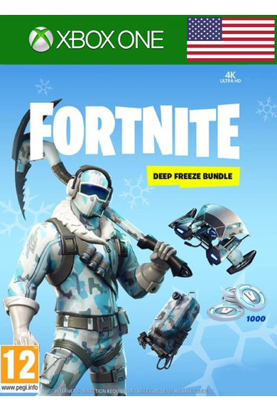 Fortnite Deep Freeze Bundle (USA) (Xbox One)