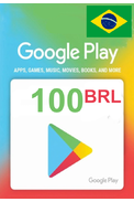 Google Play 100 (BRL) (Brazil) Gift Card