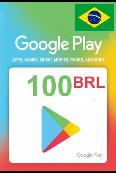 Google Play 100 (BRL) (Brazil) Gift Card