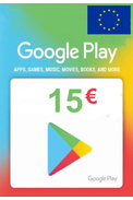 Google Play 15€ (EUR) (Europe) Gift Card