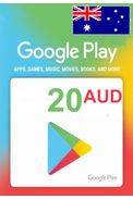 Google Play 20 (AUD) (Australia) Gift Card