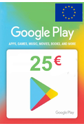 Google Play 25€ (EUR) (Europe) Gift Card