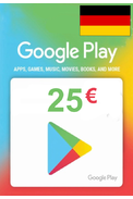 Google Play 25€ (EUR) (Germany) Gift Card