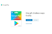 Google Play $100 (USD) (USA/North America) Gift Card
