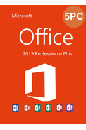 Microsoft Office 2019 Professional Plus (1Key For 5PC)