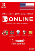 Nintendo Switch Online - 12 Month (365 Day) (USA) Membership