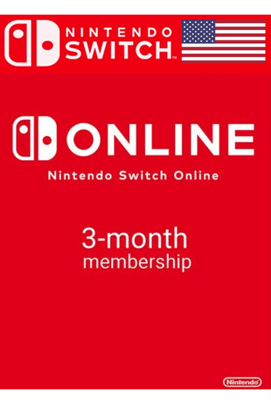 Nintendo Switch Online - 3 Month (90 Day) (USA) Membership