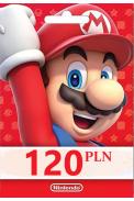 Nintendo eShop - Gift Prepaid Card 120 PLN (POLAND)