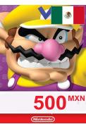 Nintendo eShop - Gift Prepaid Card 500 MXN (MEXICO)