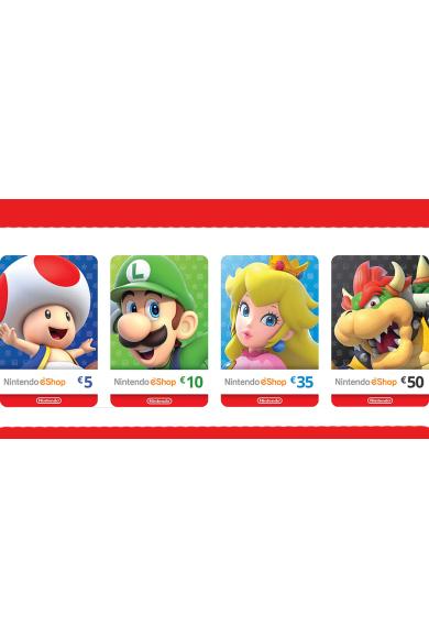 Nintendo eShop - Gift Prepaid Card $5 (USD) (USA)