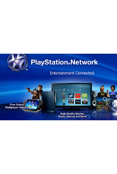 PSN - PlayStation Network - Gift Card 10 (EUR) (Luxembourg)