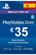 PSN - PlayStation Network - Gift Card 35€ (EUR) (Spain) (PS4)