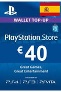 PSN - PlayStation Network - Gift Card 40€ (EUR) (Spain) (PS4)