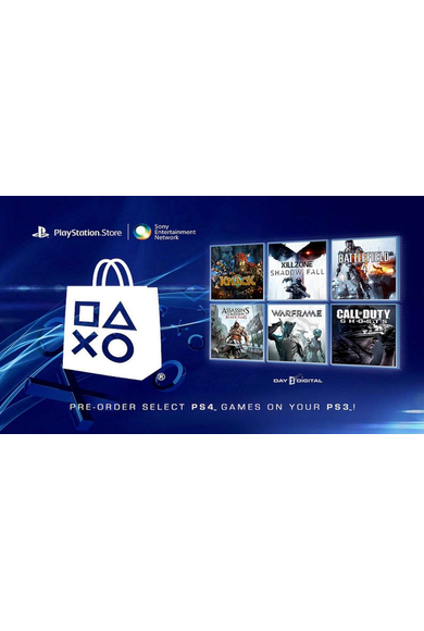 PSN - PlayStation Network - Gift Card $25 (USD) (USA)