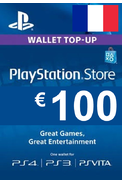 PSN - PlayStation Network - Gift Card 100€ (EUR) (France)