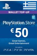 PSN - PlayStation Network - Gift Card 50€ (EUR) (Greece)