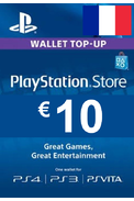 PSN - PlayStation Network - Gift Card 10€ (EUR) (France)