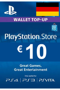 PSN - PlayStation Network - Gift Card 10€ (EUR) (Germany)