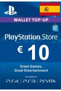 PSN - PlayStation Network - Gift Card 10€ (EUR) (Spain)