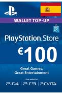 PSN - PlayStation Network - Gift Card 100€ (EUR) (Spain)
