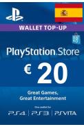 PSN - PlayStation Network - Gift Card 20€ (EUR) (Spain)