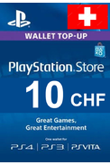 PSN - PlayStation Network - Gift Card 10 (CHF) (Switzerland)