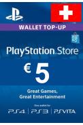 PSN - PlayStation Network - Gift Card 5 (CHF) (Switzerland)